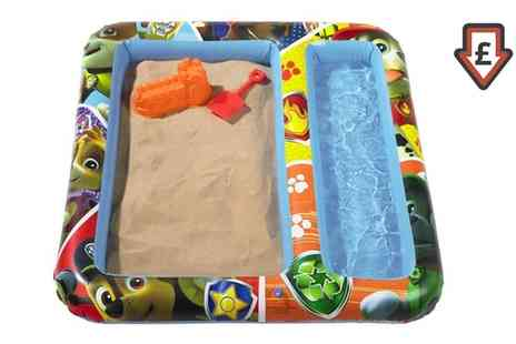 Groupon Goods Global GmbH - Paw Patrol Inflatable Sand and Water Play Mat - Save 40%