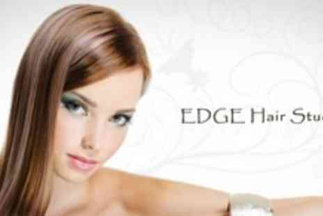 The Edge Beauty Salon - Restyle and Finish With Wella Conditioning Treatment - Save 70%