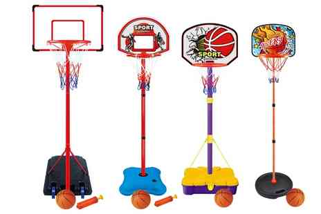 Groupon Goods Global GmbH - Childrens Basketball Sets in Choice of Design - Save 57%