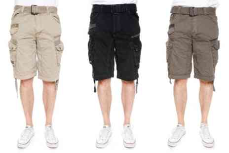 Groupon Goods Global GmbH - Geographical Norway Mens Bermuda Shorts - Save 60%