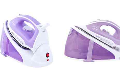 Groupon Goods Global GmbH - Quest 2600W Steam Generator Iron With Free Delivery - Save 53%