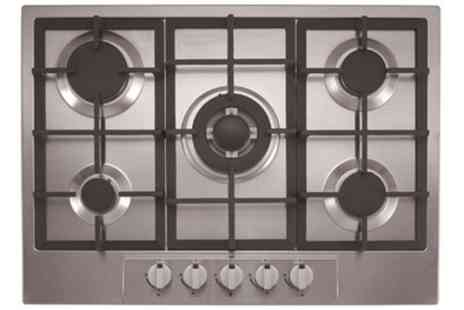 Groupon Goods Global GmbH - Ferretti Five Burner Gas Hob With Free Delivery - Save 0%