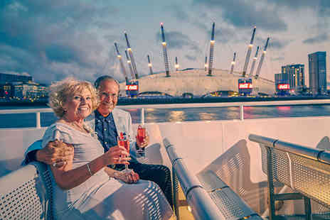 SuperBreak - One or Two Night Hotel Stay With Breakfast Plus 3 Hour Thames Dinner Cruise - Save 0%