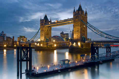 SuperBreak - One or Two Night Hotel Stay With Breakfast Plus 2 Hour Thames Sunset Cruise - Save 0%