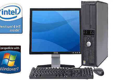 WJMTech - Dell Desktop Wi-Fi PC with Optional Bundle - Save 0%