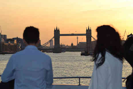 SuperBreak - One or Two night 4 Star London stay with a three hour, four course Thames dinner cruise - Save 54%