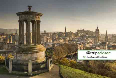 Bargain Late Holidays - One, two or three night Edinburgh stay with flights - Save 43%