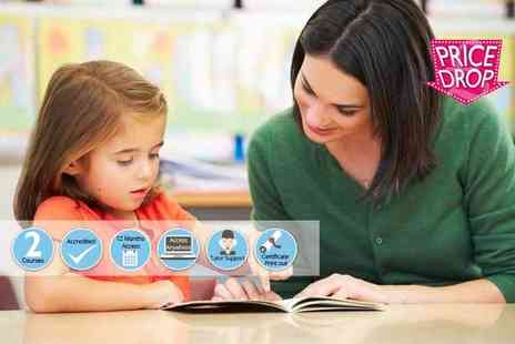 Oplex Careers - Online level 3 or 4 accredited teaching assistant course - Save 89%