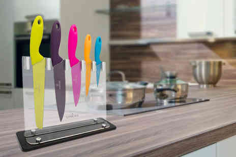 Ckent - Viners carnaby knife block set - Save 67%