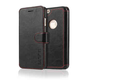 Mobile Madhouse - Leather effect phone wallet case - Save 65%