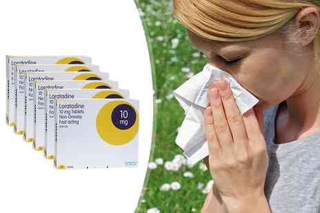 ClearChemist - Six month supply of Loratadine allergy tablets - Save 90%