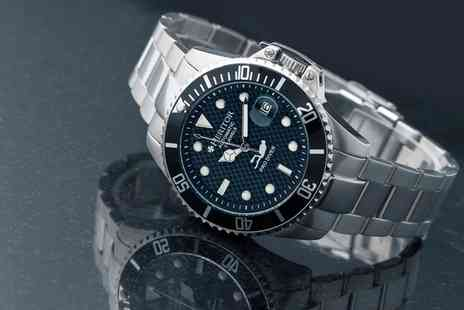 Groupon Goods Global GmbH - Heritor Automatic Pytheas Bracelet Watch With Free Delivery - Save 70%