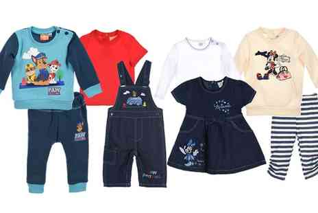 Groupon Goods Global GmbH - Babys Two Piece Disney Character Clothing Set - Save 0%