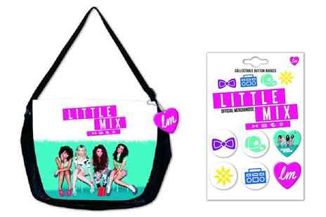 Groupon Goods Global GmbH - One or Two Little Mix Messenger Bag and Badges - Save 0%
