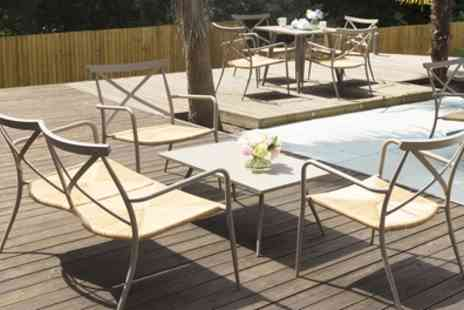 Groupon Goods Global GmbH - Oseasons Rattan and Aluminium Garden Furniture With Free Delivery - Save 0%