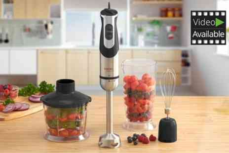 Groupon Goods Global GmbH - Cooks Professional Multifunctional Three in One Hand Blender - Save 59%