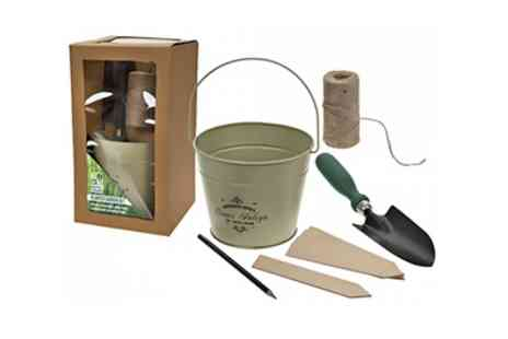 Groupon Goods Global GmbH - Gardening Planter and Trowel Gift Set - Save 0%