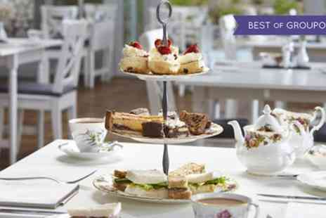 Broadoaks Country House - Afternoon Tea with Bubbly for Two or Four - Save 58%