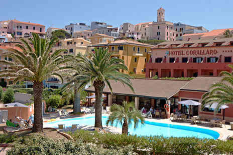 Hotel Corallaro - Four Star Sun, Sand and Relaxation For Two near Santa Teresa Gallura - Save 55%