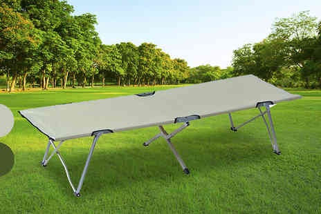 MHStar Uk - Superlight Foldable Camping Bed Choose 2 Colours - Save 0%