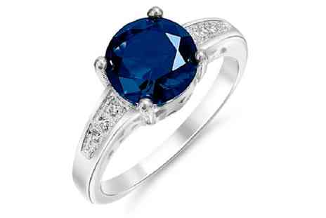 GameChanger Associates - Simulated sapphire ring - Save 95%