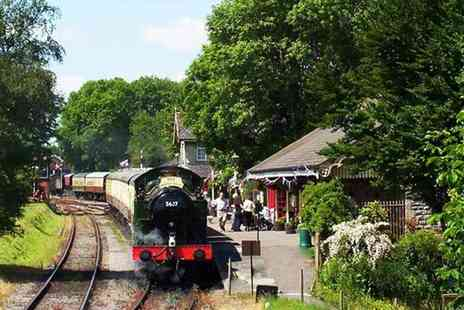 Buyagift - Somerset steam train ride with sparkling afternoon tea for two - Save 0%