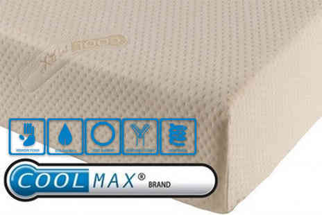 Midnight Dreams - Single, small double or double or king size Coolmax memory foam mattress - Save 78%