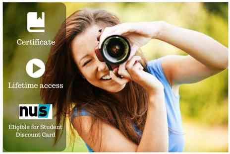 OfCourse - Online photography masterclass course - Save 94%