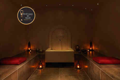 The Spa in Dolphin Square - Luxury Moroccan spa experience for two with Rhassoul ritual, £10 voucher each and more - Save 63%