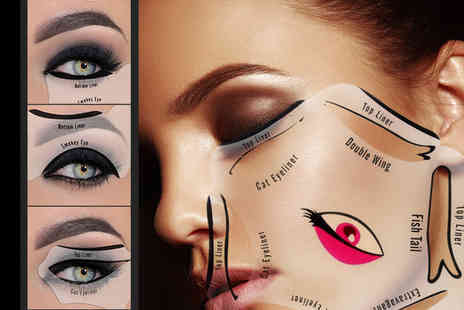 Forever Cosmetics - Two eyeliner stencil tools - Save 75%