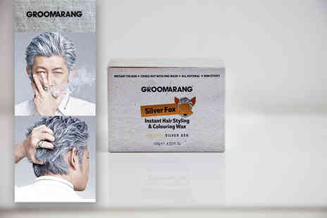 Forever Cosmetics - Tub of Groomarang Silver Fox hair colouring wax - Save 74%