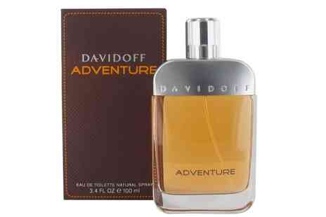 Groupon Goods Global GmbH - Davidoff Adventure EDT 100ml Spray - Save 66%