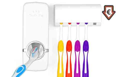 Groupon Goods Global GmbH - One or Two Toothbrush Holders - Save 67%