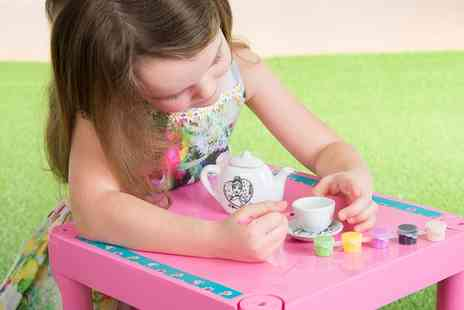 Groupon Goods Global GmbH - Disney Princess Paint Your Own Tea Set - Save 14%