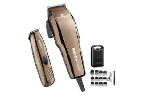 Groupon Goods Global GmbH - Babyliss Hair Clipper and Trimmer for Men with Accessories - Save 17%