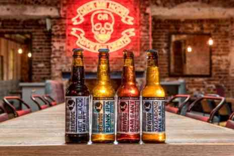 Brewdog - Beer School Tutored Craft Beer tasting with Five Beers and a Cheese and Meat Platter for Two - Save 50%