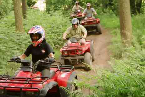 Heart of England Events - Quad Trekking and Laser Clay Shooting for One or Two - Save 61%