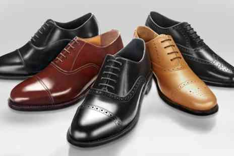 Samuel Windsor - One or Two Pairs of Samuel Windsor Mens Handmade Leather Shoes - Save 70%