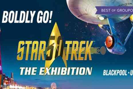 Kuma Exhibitions - One standard ticket to Star Trek The Exhibition on 26 May To 31 July - Save 36%
