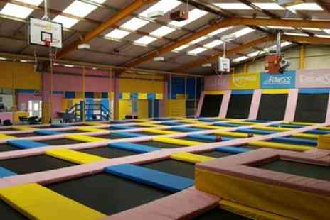 Tramp2lean Rochdale - One Hour Bounce Entry for Adult and Toddler or One, Two or Four - Save 20%