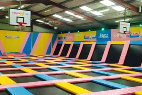 Tramp2lean Leyland- One Hour Bouncing Session for an Adult and Toddler or Up to Four Adults - Save 20%
