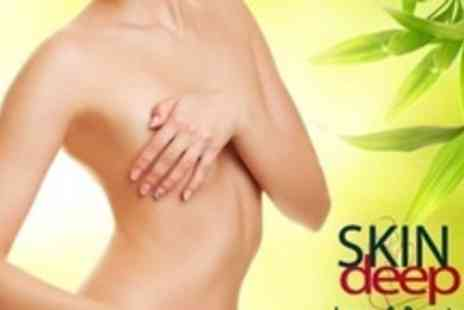 Skindeep Laser and Beauty - Three Ultrasound Cavitation Using 3D Lipo Machine Sessions - Save 75%