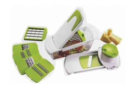 Groupon Goods Global GmbH - Multifunctional Mandolin Slicer With Accessories - Save 46%