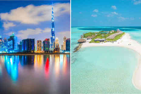 JW Marriott Marquis Dubai  & Dhigufaru Island Resort - Four or Five Star Idyllic Villa on a Private Island with Dubai Stopover - Save 0%