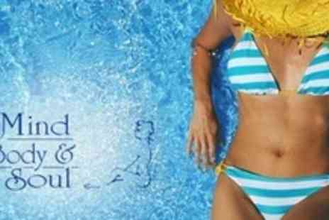 Mind Body and Soul - One Full Body Spray Tan Sessions - Save 53%