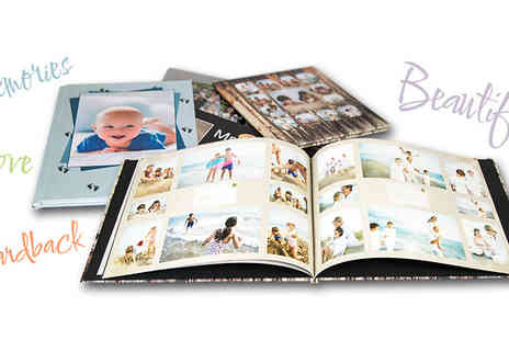 UPhotoGifts - Personalised Photobook 20, 40, 80 or 100 Pages - Save 67%