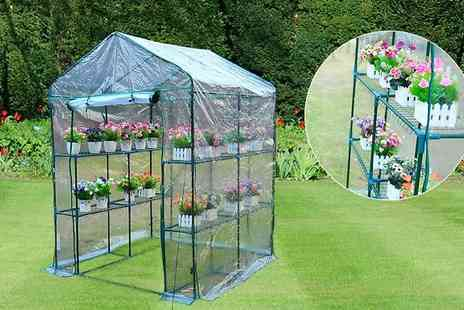 MHStar Uk - Steel Frame Greenhouse - Save 0%