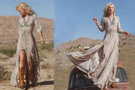 Shop Chainz - Bohemian Aspen maxi dress - Save 84%