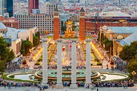 Tour Center - Two, three or four night Barcelona break with flights - Save 56%
