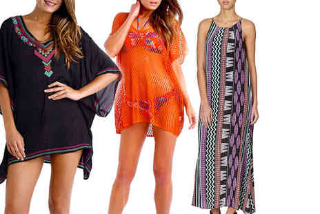 Deals Direct - Seafolly beach dress or kaftan choose from three stunning styles - Save 0%